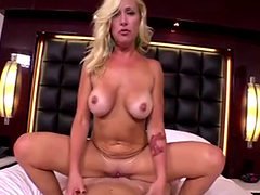 1st Adult Video For Hot Blond Milf