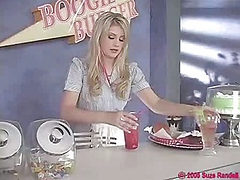 Very cute teen Waitress Lacie Heart (Try something diff...