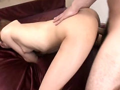 Asian Big Ass Bitch Gets To Be Doggy Style Thrashed