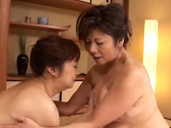 Japanese 2 Boobs Mature Bathroom Play