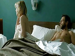 Valeria Bruni Tedeschi nude on bed while a guy has sex ...