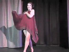 Nude Burlesque Strip SHOW 341 Pordelain Vanity