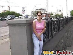 Street piss scandal