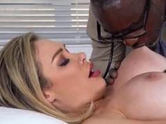 Blonde Beauty Interracial Fuck