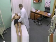 Hot Babe Getting Fucked In A Fake Hospital