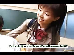 Akane hotaru from idol69 adorable japanese girl at school