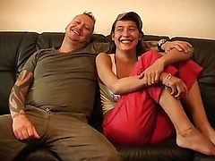Big Natural Titted Euro girl feels it good (Try somethi...