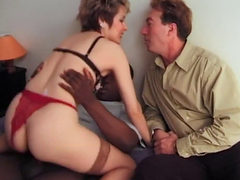 2 French Matures In Stockings Anal
