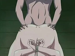 Hentai with guy drilling mum in the ass