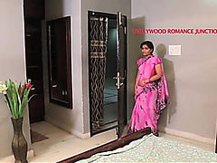 indian beautiful teacher tempting to her student for ro...