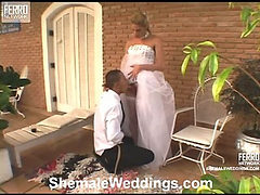Bia sweet shemale bride