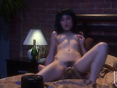 Sex obsessed honey Ryder Skye and Sasha Grey makes her...