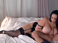 Hot Brit babe gets fucked