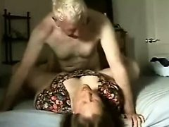 Exciting wife gets pounded deep and hard missionary sty...