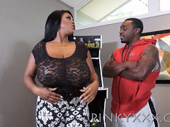 Busty Ebony Milf Maserati Gets A Dick Down) 1080p