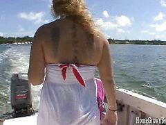 Jordyn Peaks Titty Fucks Donny Long's Big Cock