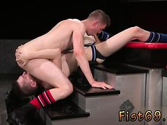 Gay kiss and fist porn ass fisting with feet pics Axel ...