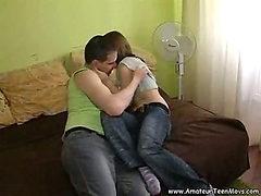 Stepdad seduced daughter will mom at work