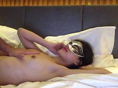 Sexy Petite Asian Roughly Fucked and Tied Up, Bonded by...
