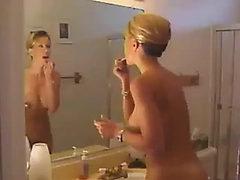 Daughter spanks mother