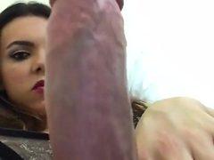Latina Flashing Dick & Ass
