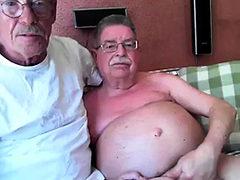 grandpa couple on cam