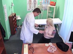 Blonde Hoe Misha Cross Gets Fondled By Her Doctor