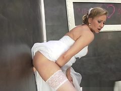Bride Slut Gets Bukkaked