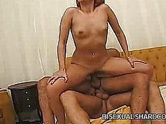 Nasty Latina Double Penetrated